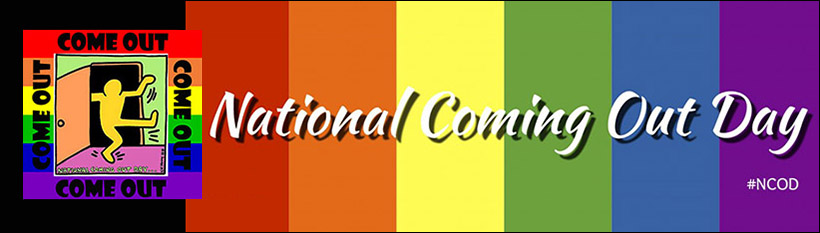 Phrasal verbs come: National Coming Out Day