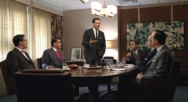 Mad Men, inglés de negocios