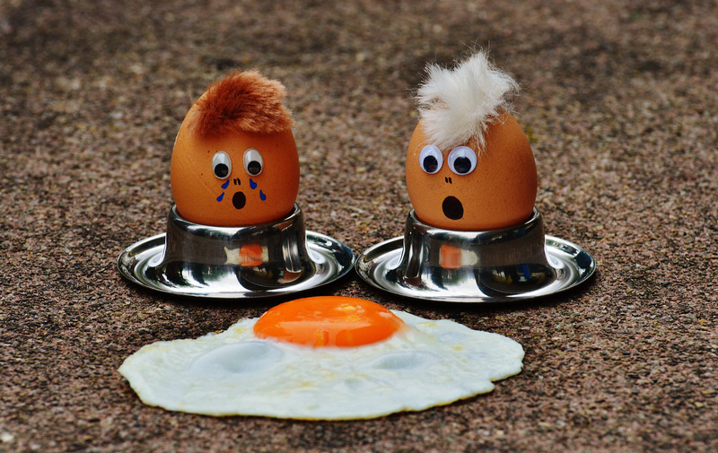 Huevos en inglés