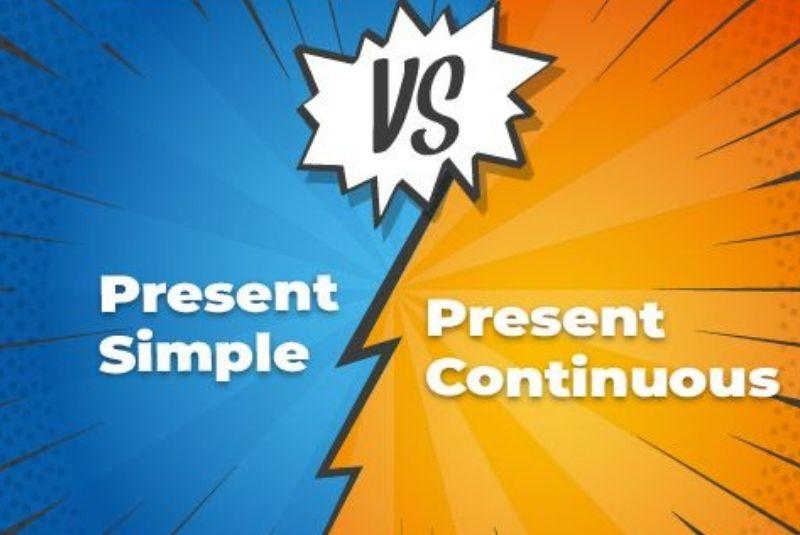 ¿Cuál es la diferencia entre PRESENT SIMPLE y PRESENT CONTINOUS?