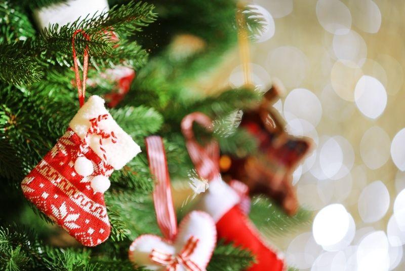 Navidad en inglés adornos