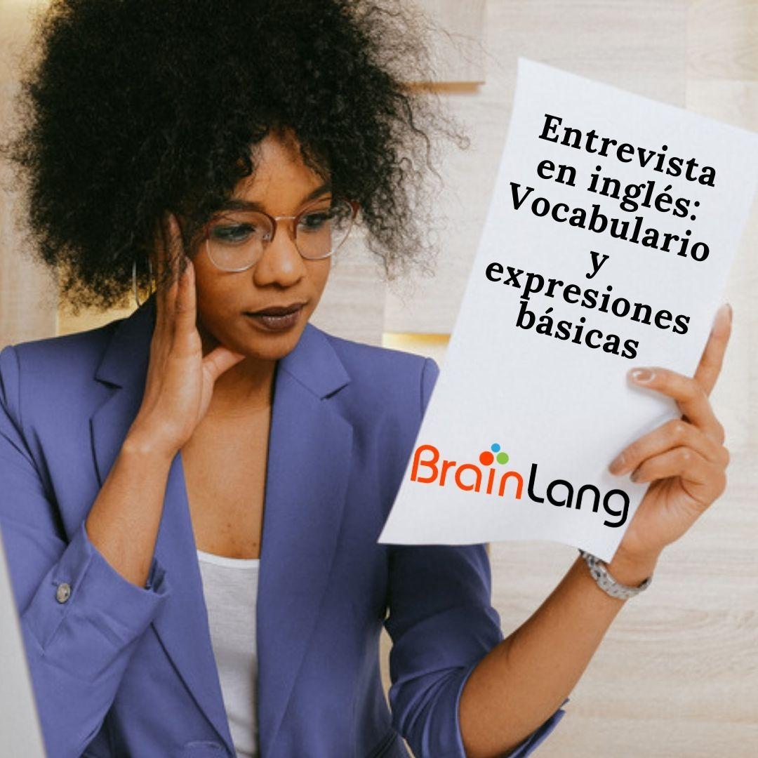 Entrevista en inglés vocabulario y expresiones