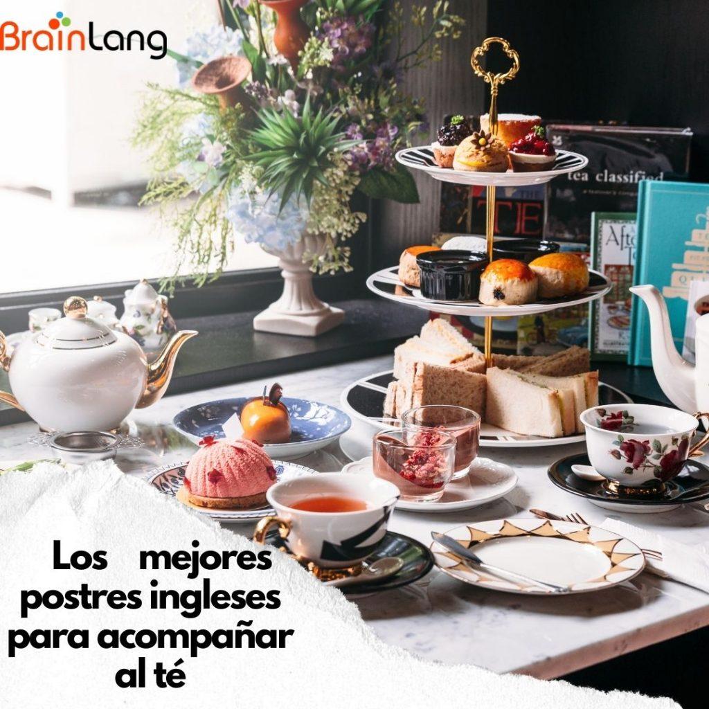 15 postres ingleses para acompañar al té