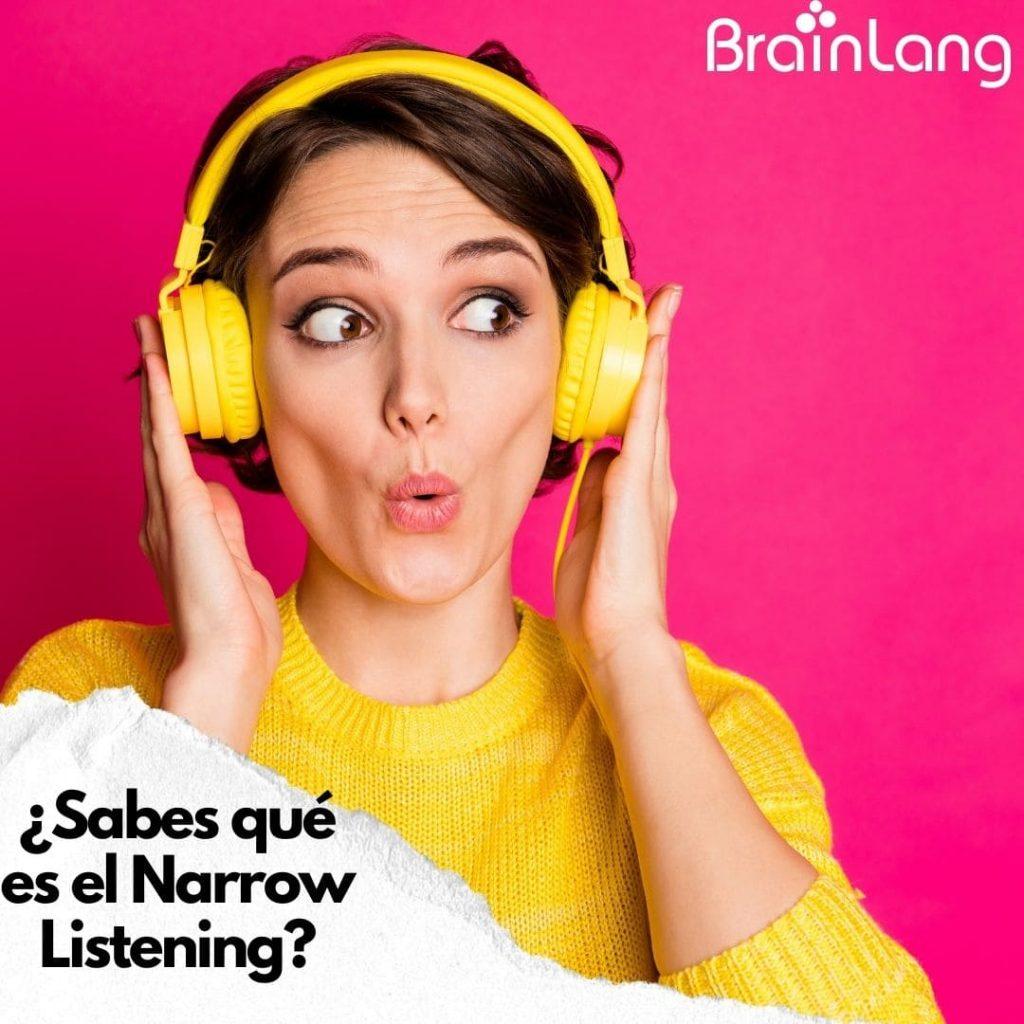 Cómo practicar el listening en inglés con Narrow Listening
