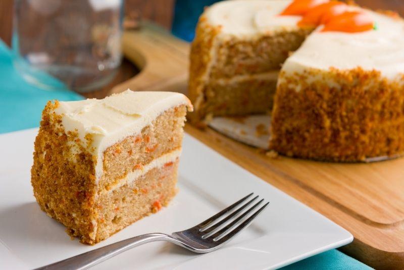 Postres inglees Carrot Cake