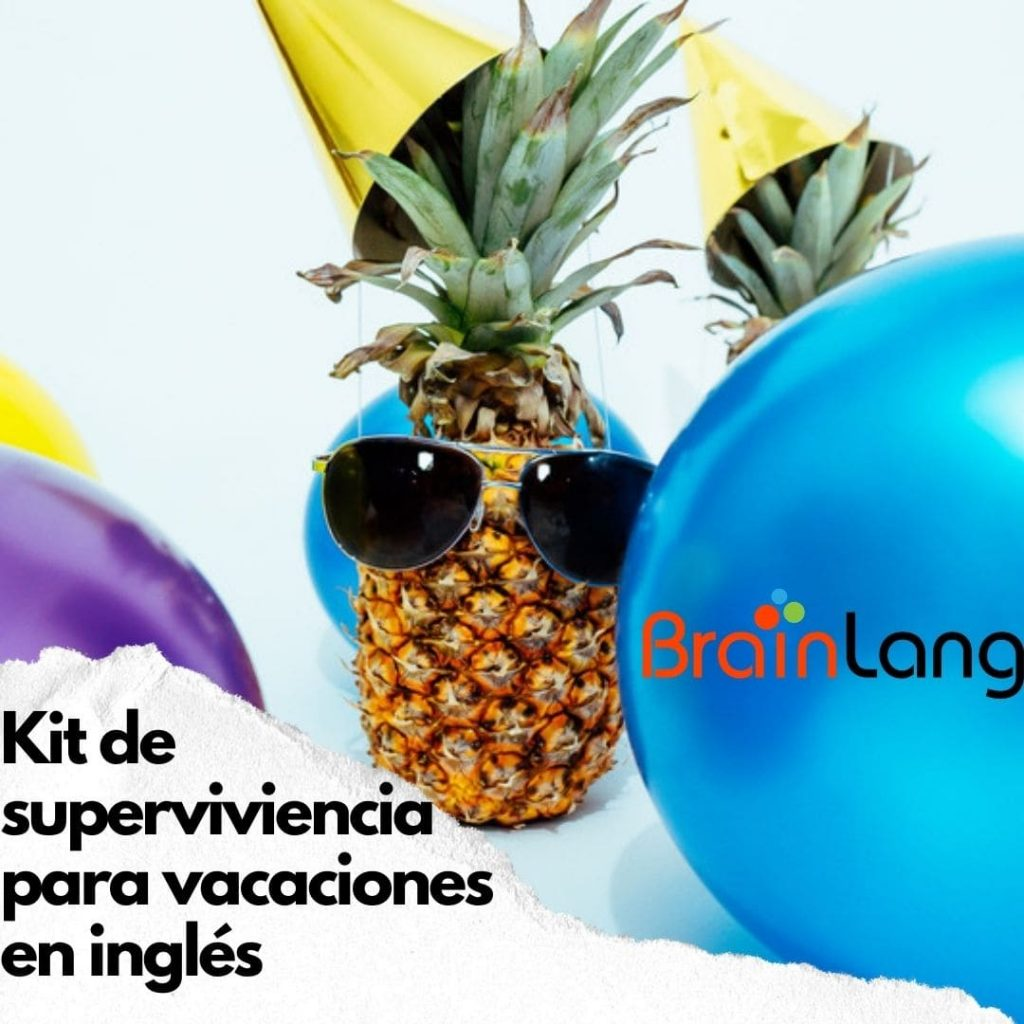 Vacaciones en inglés: Kit de supervivencia